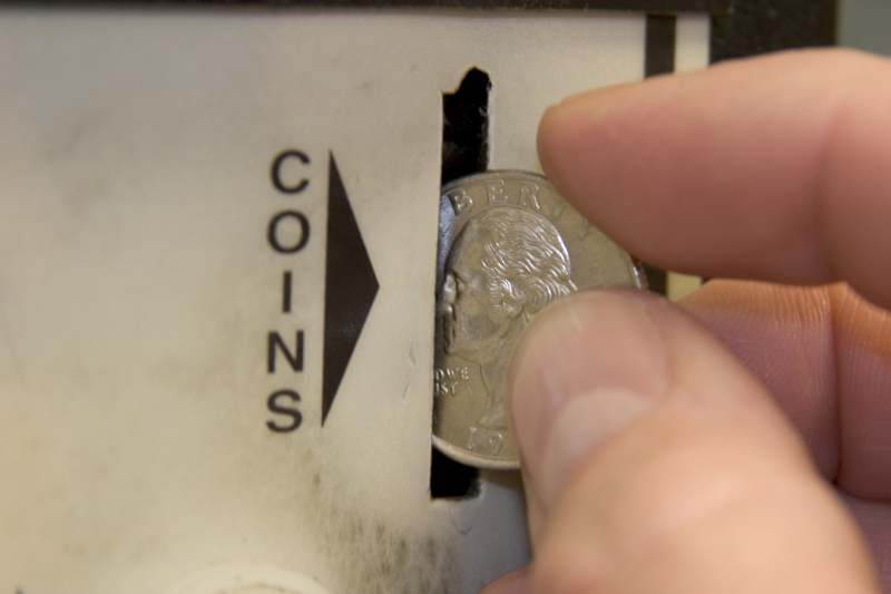 Coin-operated
