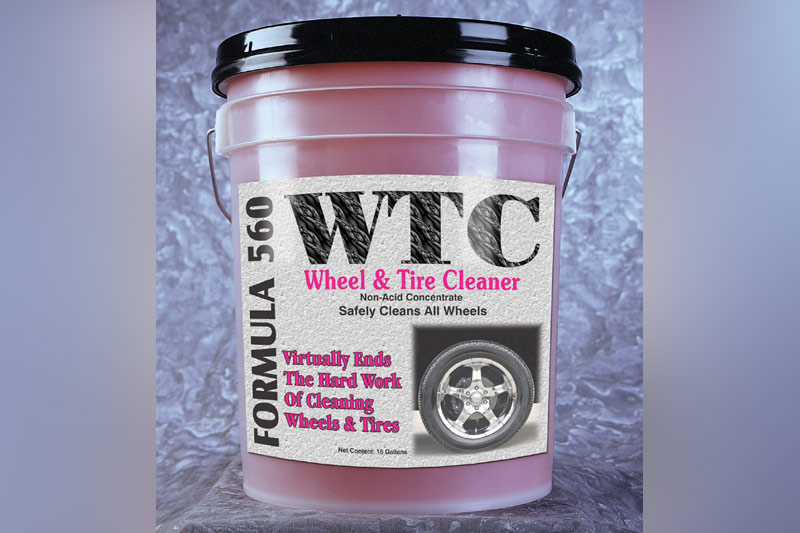 Wheel & tire cleaner