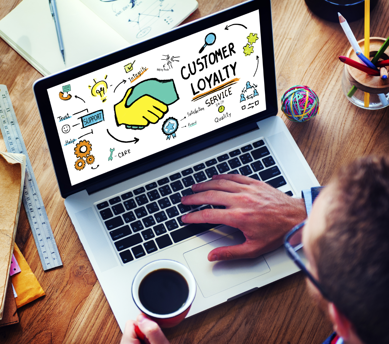 Customer loyalty, customer service, customer retention, customer satisfaction, retaining customers, customer base, customer support