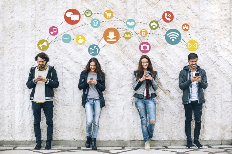 social media, social networking, follower profile, connect, communication, like, follow, technology, mobile technology, Internet