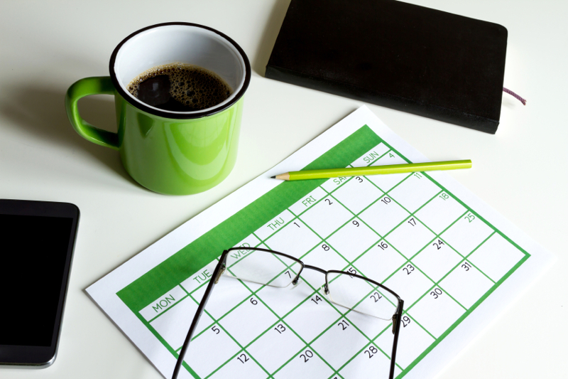 Event, trade show, calendar, agenda, planner, appointment, date,