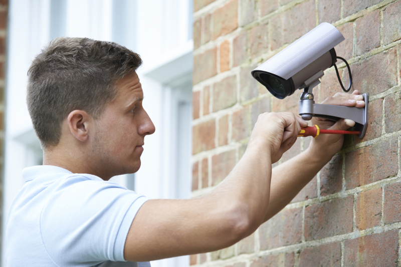 security, surveillance, crime, safety, camera, technology, installment, installing a security system, equipment