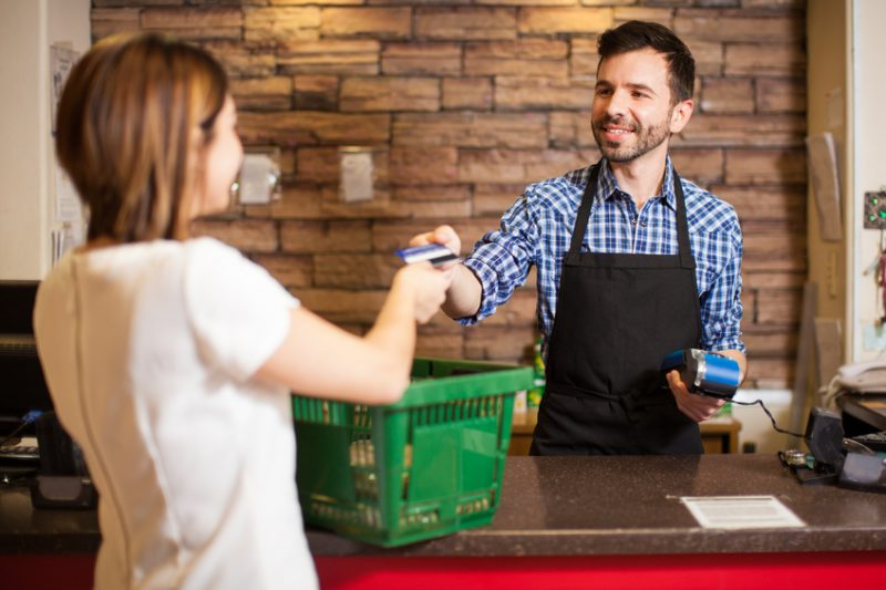 cashier, convenience store, c-store, customer, customer service, checkout, groceries