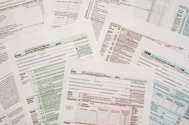 tax forms, taxes, tax considerations, tax returns