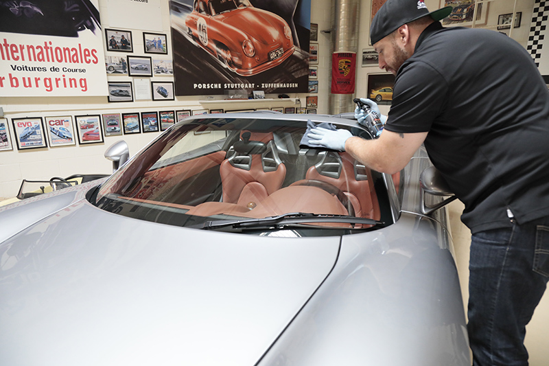 Chris Walters; Photo courtesy of Jay Leno's Garage Advanced Vehicle Care