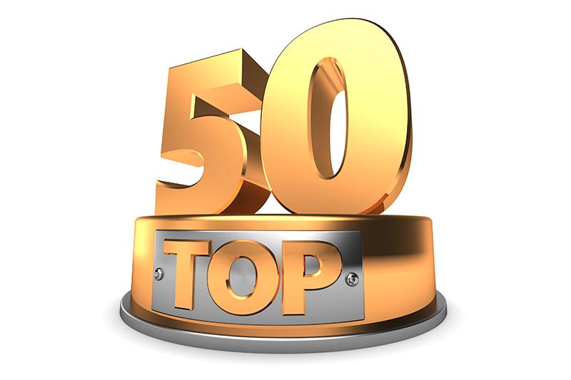 Top 50, trophy