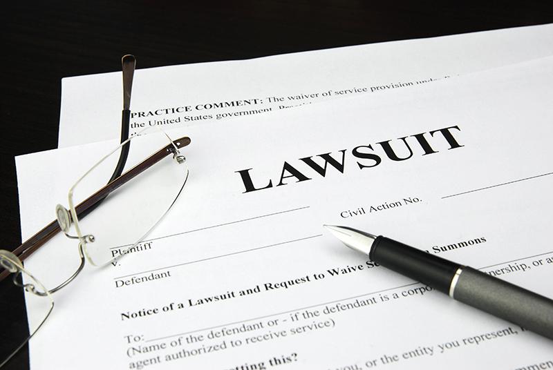 lawsuit, sued, form, law