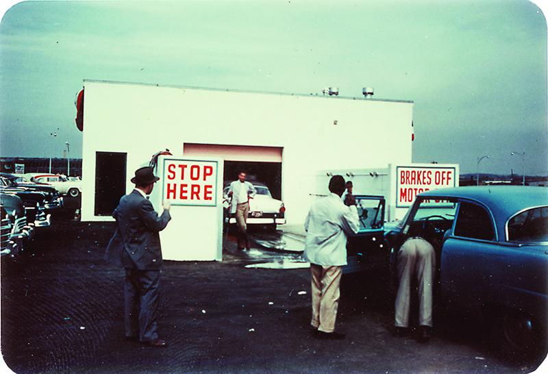 Vintage carwash