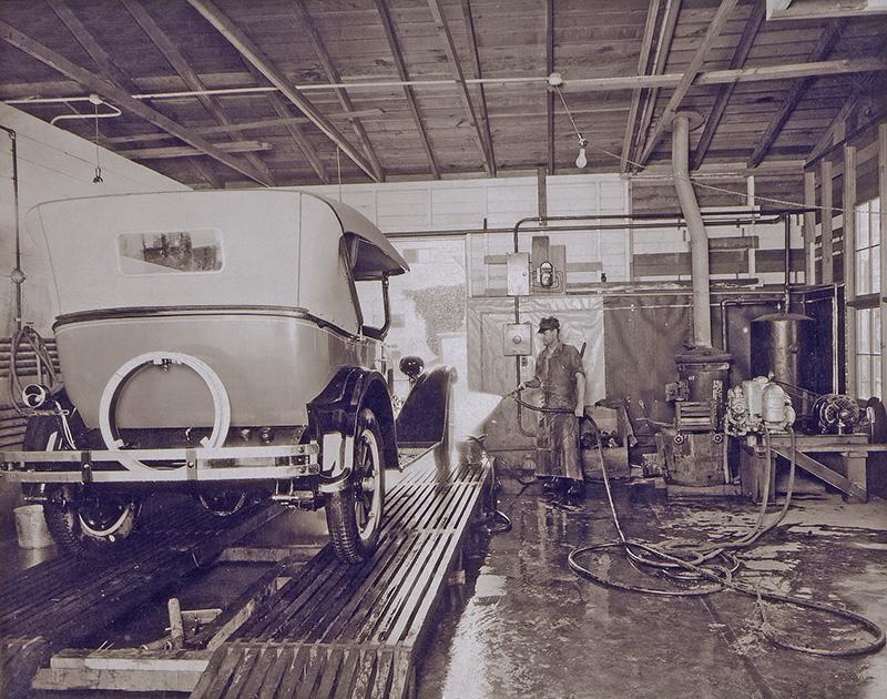 carwash history, hand wash