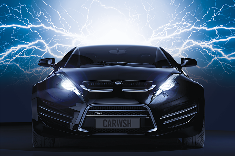 car, electricity, lightning, energy