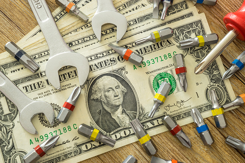 money, maintenance, tools, repairs