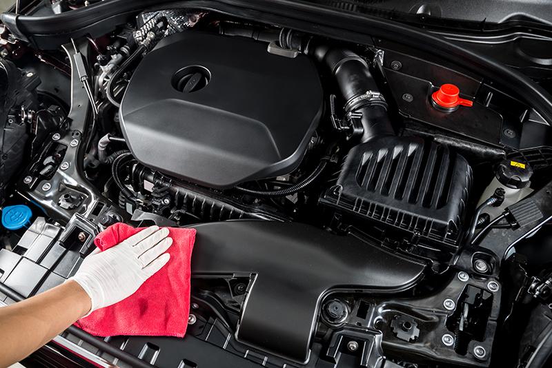 detailing, car engine, underhood