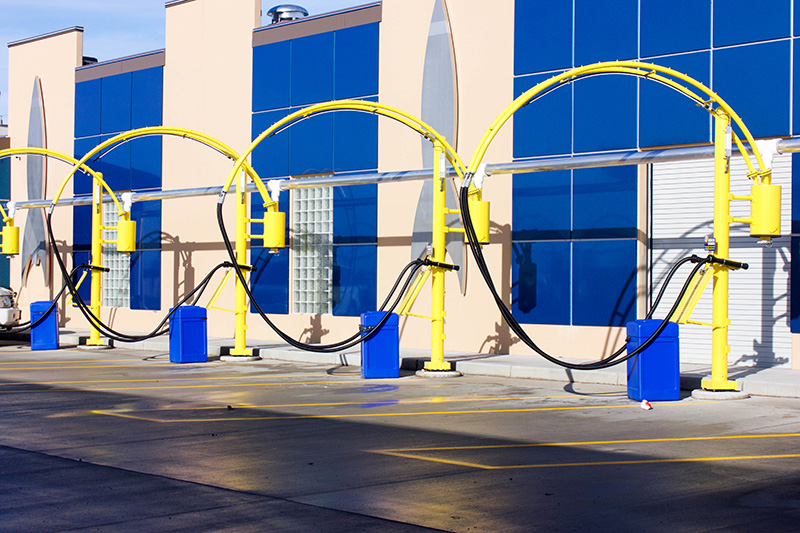 vacuum systems, vacuums, central vacuum system, carwash, arches, hoses
