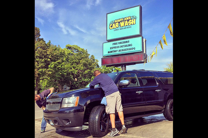 Soapy Joe's Car Wash