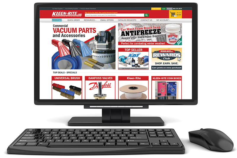Kleen-Rite, website