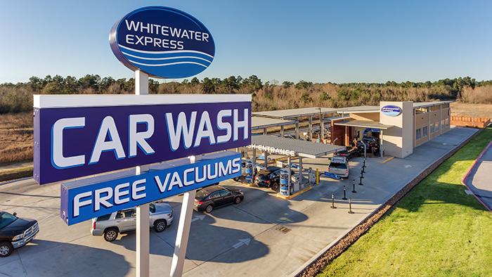 WhiteWater Express Car Wash