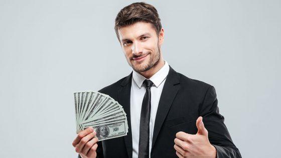 businessman, buyer, money