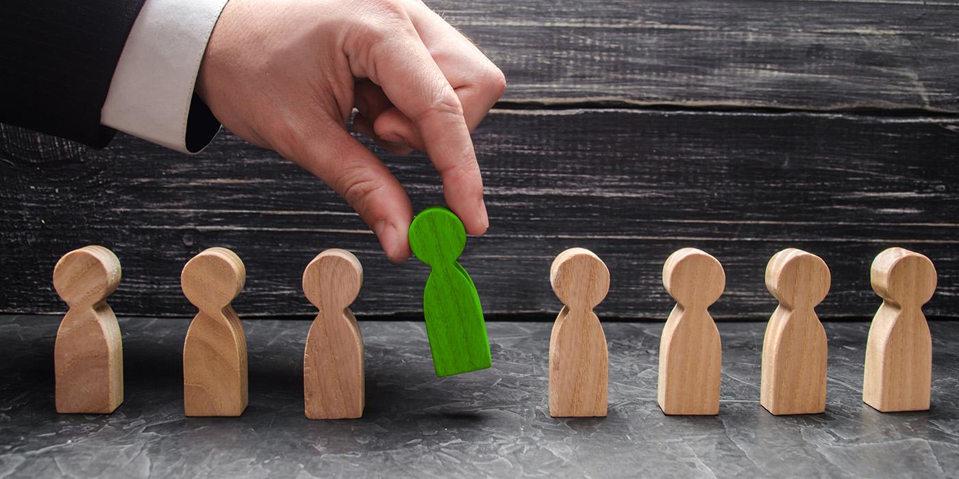 businessman, hand, selection, agent, hiring, employee, management