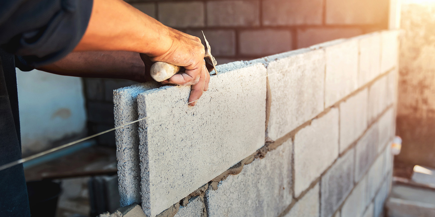 construction, building, cement, wall, block, remodel, conversion