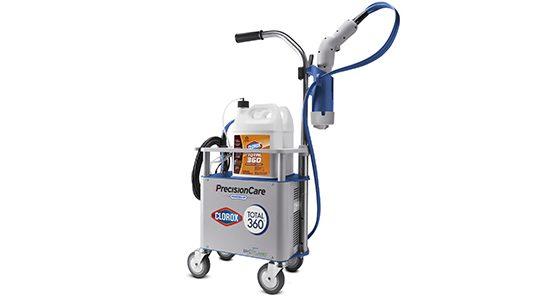 Clorox sanitizing system