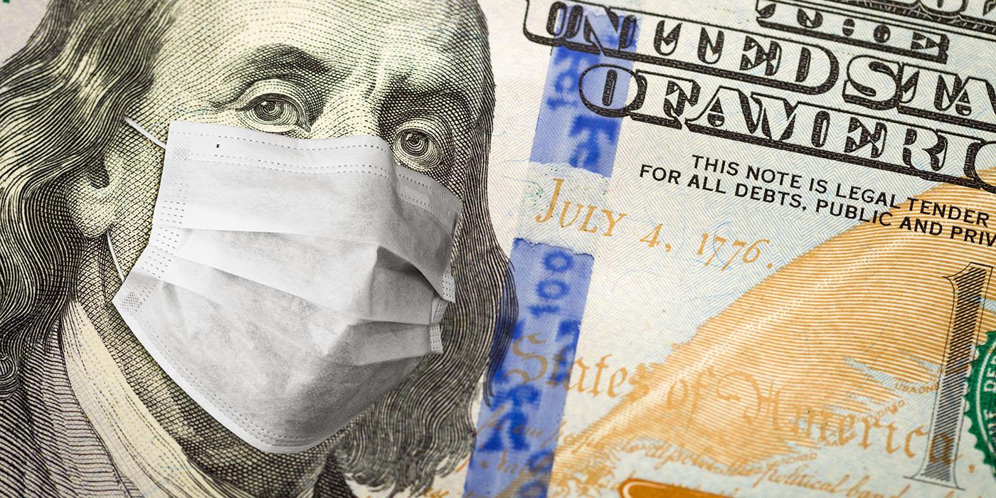 hundred dollar bill, coronavirus, money, financial aid, emergency lending, loan