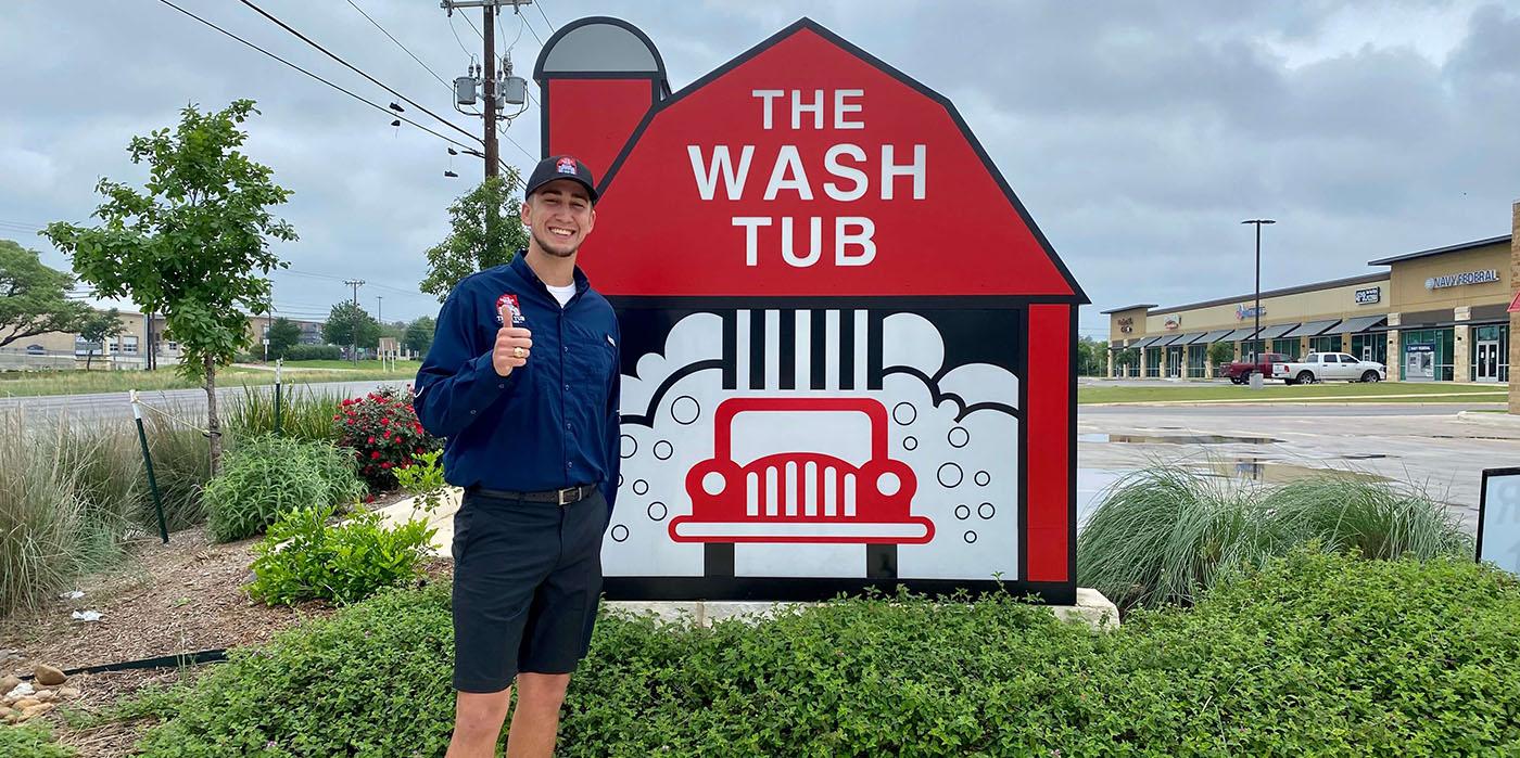 Austin Mitchan, The Wash Tub