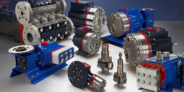 Wanner Engineering, Hydra-Cell pumps