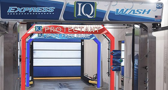 D&S Car Wash Systems, IQ Express