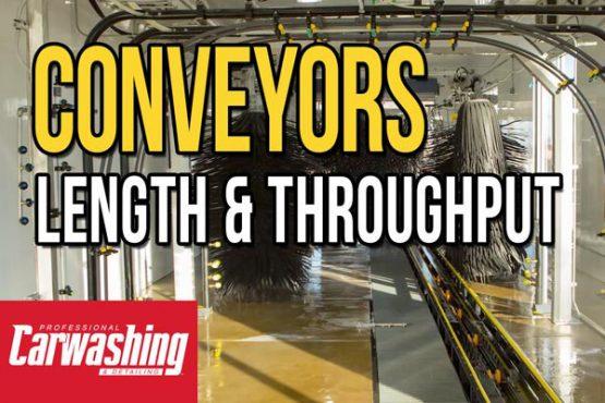 conveyor, length, tunnel, throughput
