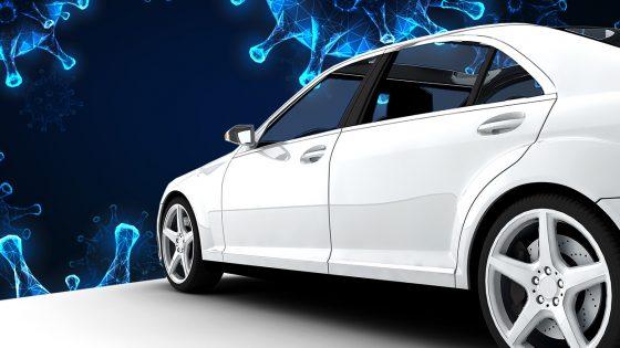 coronavirus, car