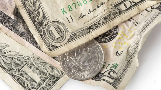 minimum wage, money
