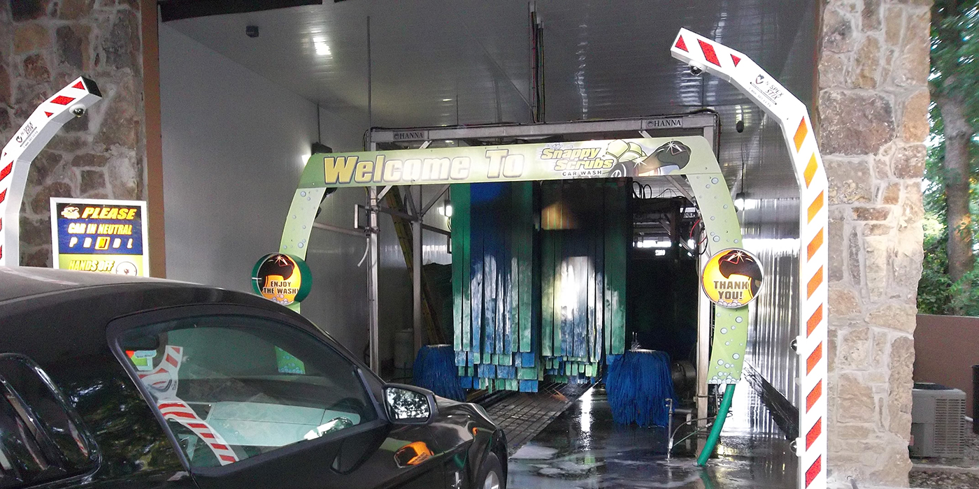 security cameras, surveillance, carwash tunnel