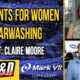 women in carwashing, claire moore