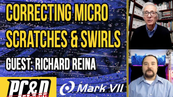 micro scratches