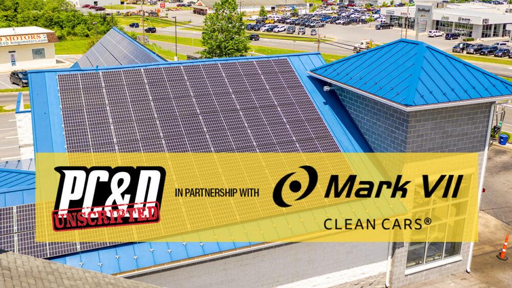 solar power carwash, Valley Car Wash