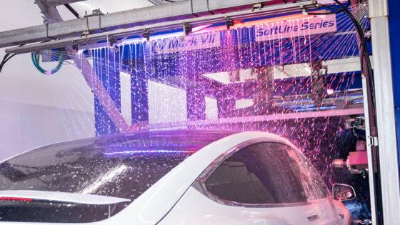 carwash, lights, foam