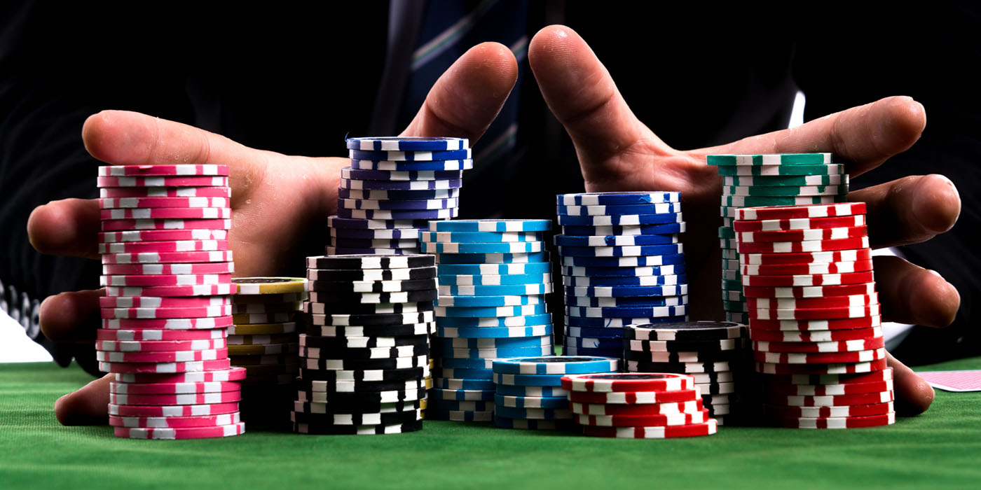 bet, all-in, poker chips
