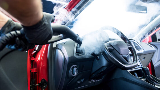 steam cleaning, detailing, technology